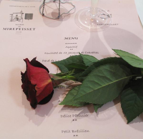 Valentine visits Mirepeisset…